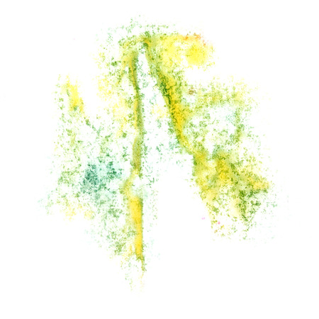 insult: Abstract watercolor yellow background for your  design insult Stock Photo