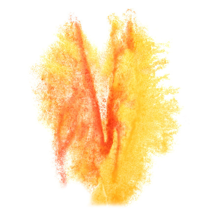 insult: Abstract yellow, red watercolor background for your design insult
