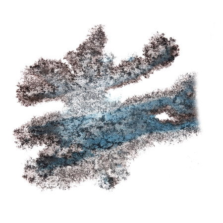insult: Abstract blue,black watercolor background for your design insult art