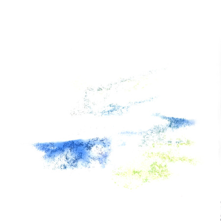 insult: Abstract blue,yellow watercolor  background for your design insult