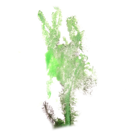 insult: Abstract green watercolor background for your  design insult art Stock Photo