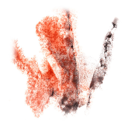 insult: Abstract  watercolor background red,black for your design insult art
