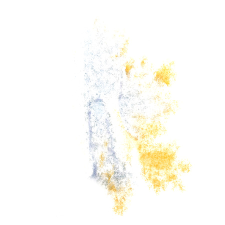 insult: Abstract grey,yellow watercolor background for your design insult