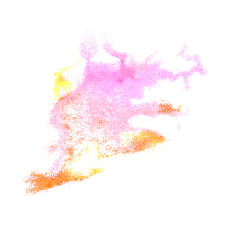 insult: Abstract pink,brown watercolor background for your design insult art Stock Photo