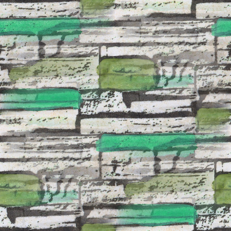 bog: seamless green bog bricks texture background wallpaper pattern ancient