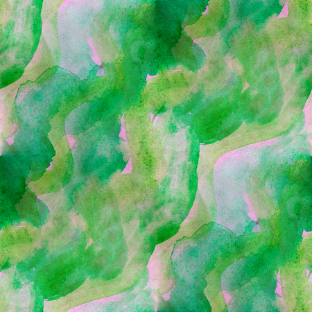 pink and green: seamless  background watercolor pink green smear brush color water abstract art