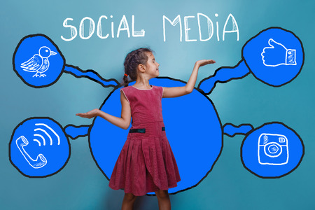 hand weights: social media network  infographics set sketch teen girl holding hand weights