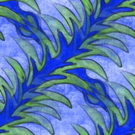blue violet: watercolor  flower pattern seamless floral background illustration violet blue spring  wallpaper vintage art flowers