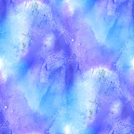 seamless  watercolor background  abstract blue purple texture art pattern, water paper design wallpaper