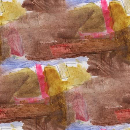 brown wallpaper: seamless  yellow brown wallpaper art watercolor abstract background handmade