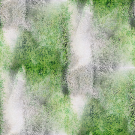 green and black: seamless  wallpaper art green black watercolor abstract handmade background Stock Photo