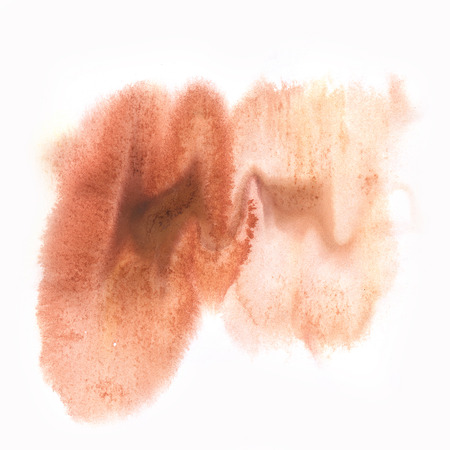 splotches: color  spot brown macro blotch texture isolated white background