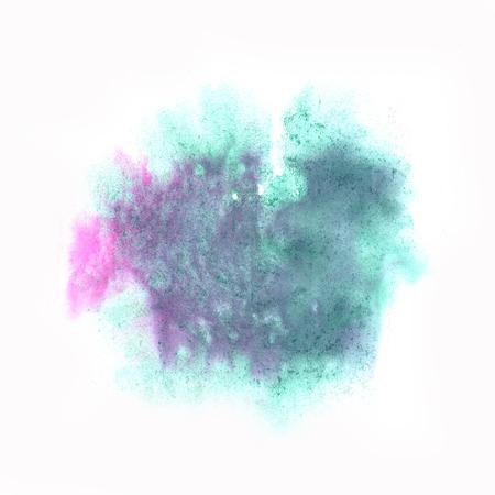 blotch: color spot blue purple macro blotch texture isolated white background