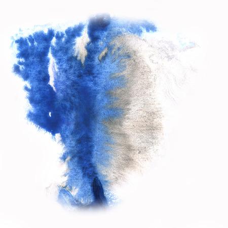 blotch: color  spot macro blotch blue texture isolated white background
