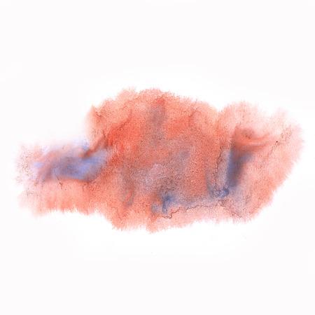 ink splatter: ink splatter watercolour dye blue red liquid watercolor macro spot blotch texture isolated on white background
