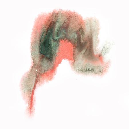 black dye: ink splatter watercolour dye black red liquid watercolor macro spot blotch texture isolated on white background