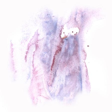 daub: macro blue purple spot blotch texture isolated on a white background