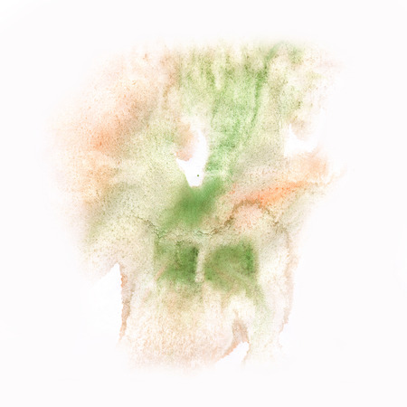 blotch: macro  green spot blotch texture isolated on a white background Stock Photo
