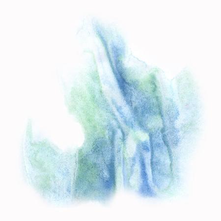blotch: macro  spot  blue blotch texture isolated on a white background