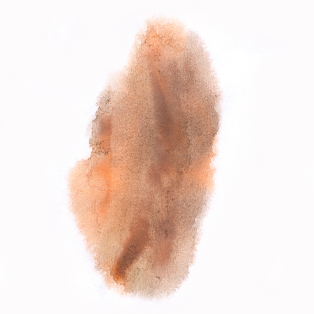 blotch: macro  spot blotch texture brown isolated on a white background