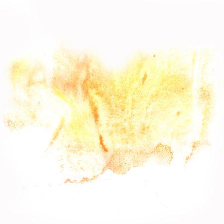 blotch: macro  yellow spot blotch texture isolated on a white background Stock Photo