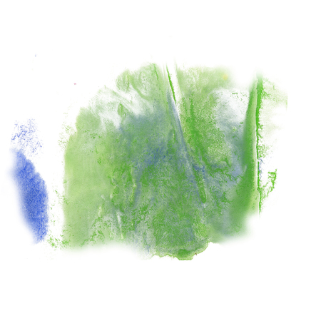 green ink: paint splash color blue green ink blue red watercolor isolated stroke splatter watercolour aquarel brush art