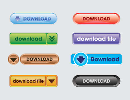 Download Buttons for web designing, application development any many more way to use buttons