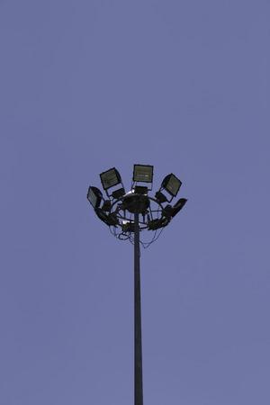 prominence: Spotlight in blue sky