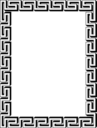 a7: Vectorian border, old style
