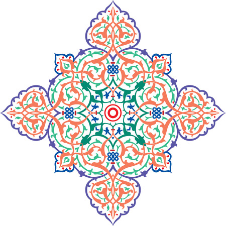 Oriental ornament, colored Stock Vector - 23185561