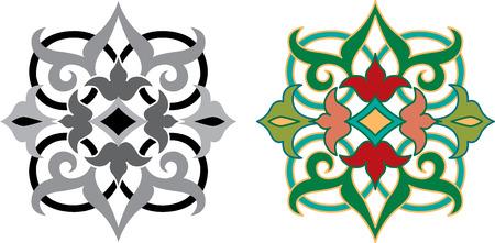 Oriental Ornament Standard-Bild - 23185591