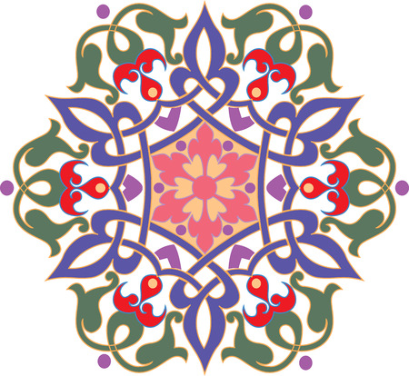 Oriental ornament Illustration