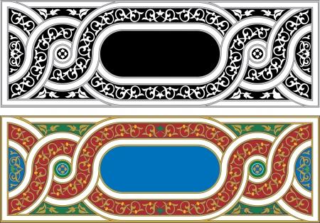 Oriental ornament Illustration