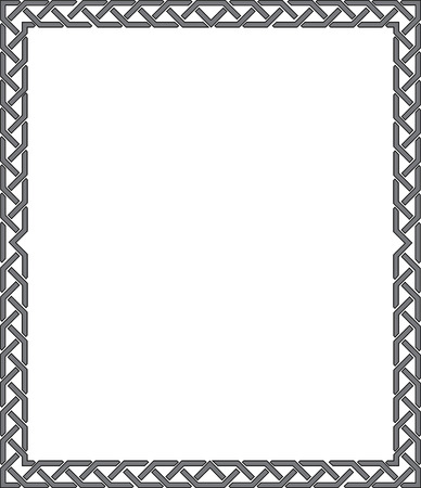 Elegant vector lines, border frame Stock Vector - 23185715
