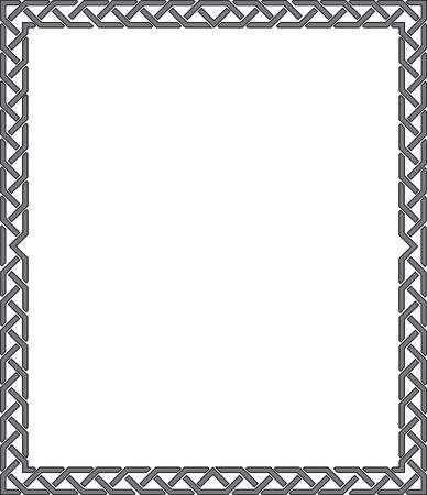 Elegant vector lines, border frame Stock Vector - 23185715