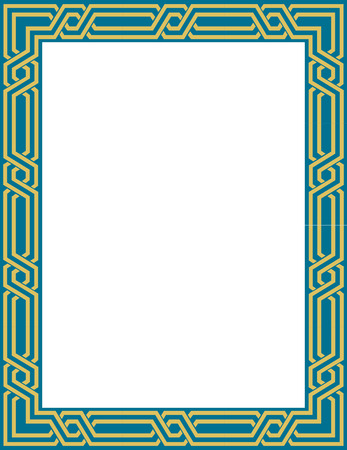Elegant vector lines, border frame, thick Stock Vector - 23185727