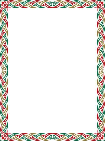 Elegant border frame Vector