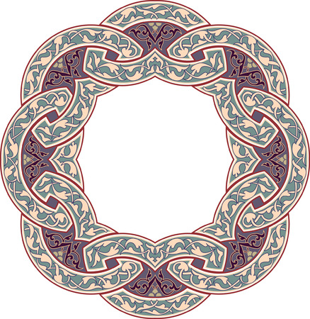 Ornamental decorative, circle Vector