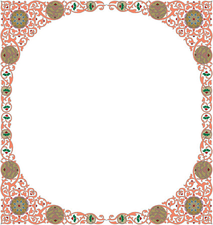 Ornamental decorative, circle Stock Vector - 23185904