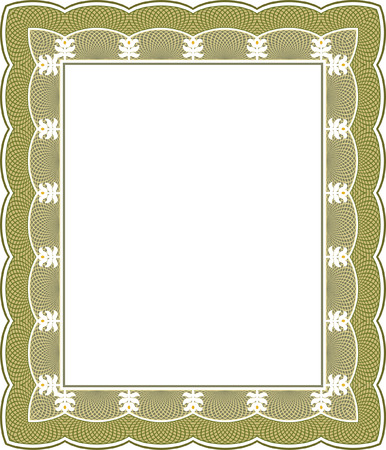 thick: Tiled mesh vector frame, thick, Colored Illustration