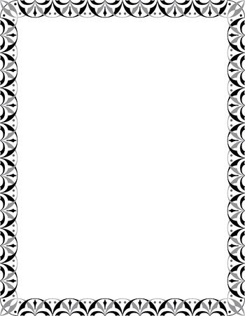 em tons de cinza: Quadro decorado, em tons de cinza
