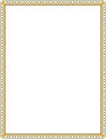Einfache Art dünnen Rahmen, Farbiger Standard-Bild - 23562941