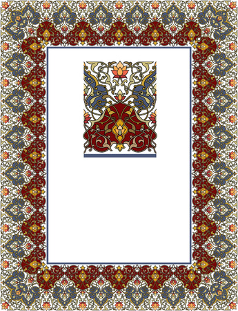 thick: Detailed ornate thick frame
