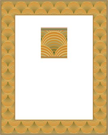 Classical ornament frame Vector