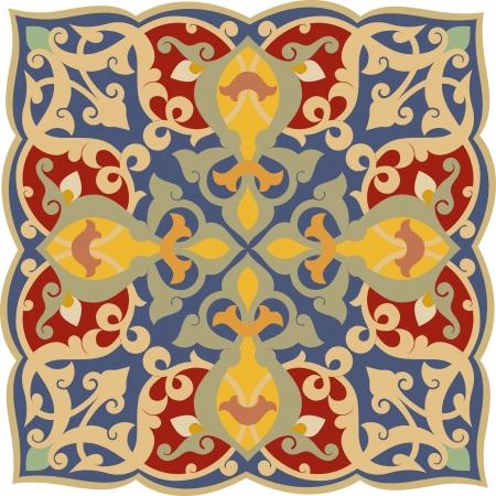 Gegarneerd patroon, vector design