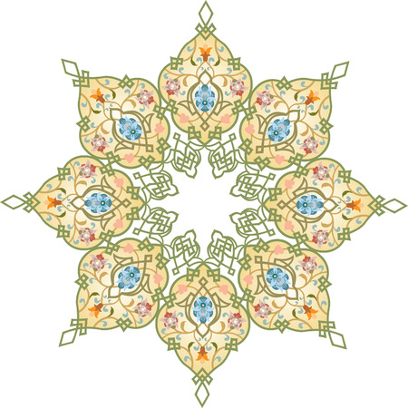 Oriental ornament vector design Vector