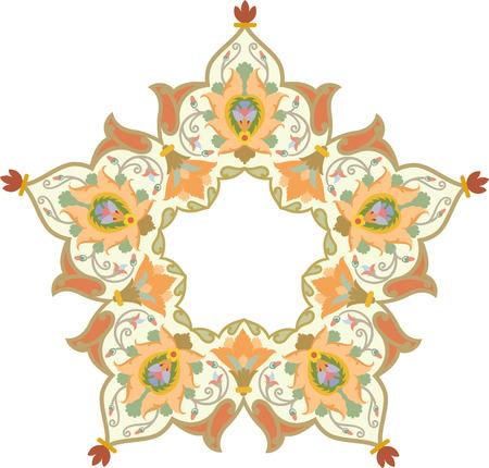Flowers decoration, vector design, Watercolor Vector