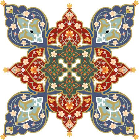 Blumen Dekoration Muster, Vektor-Design