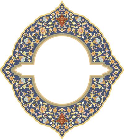 Flowers decoration pattern, vector design Vector