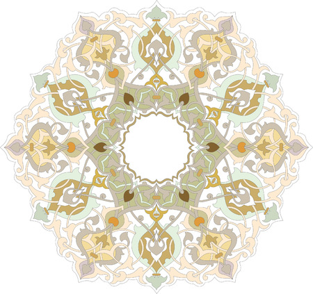 Ornamental seamless pattern in oriental style Vector